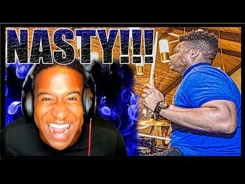 Reaction Video To Drums Skill Level: 1,000,000 | Jermaine Poindexter
