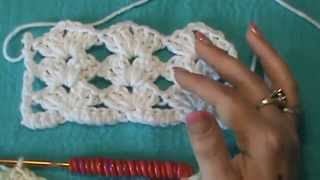 "How to Crochet the ""Lacy Shell Stitch"""