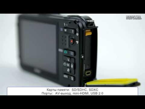 Защищенный фотоаппарат Nikon Coolpix AW100