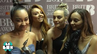 The BRITs 2017: Little Mix on winning their first award