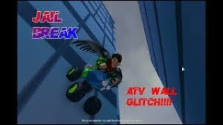 How To Drive Up Walls With ATV (Glitch) Roblox/Jailbreak
