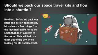 Definitions of Life as we explore outer space