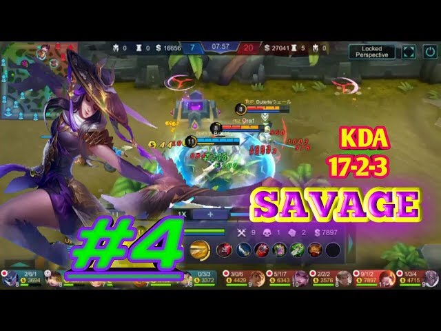 GamePlay Fanny #4 ( yasue ),,  enemy SAVAGE!!