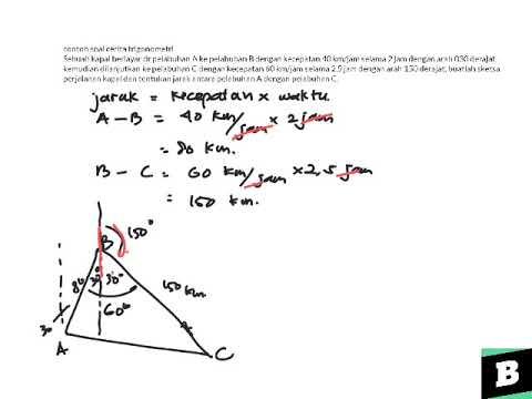 Contoh Soal Cerita Trigonometri Youtube