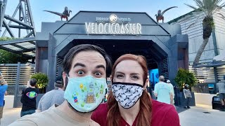 Velocicoaster Universal Orlando Passholder Preview!   Full Queue, Ride Review, and Merch!!