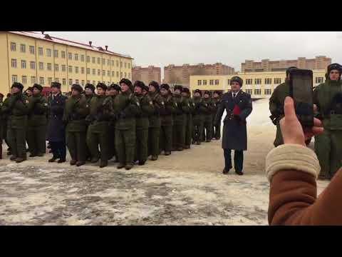 дзержинский полк в балашихе фото с присяги несколько лет