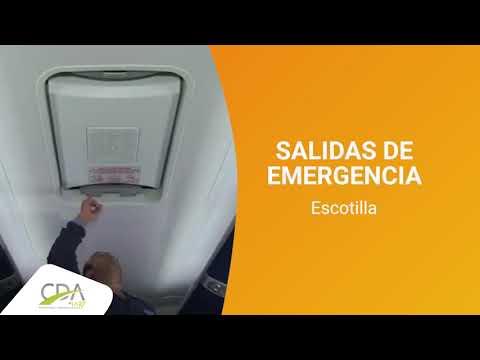 SALIDAS DE EMERGENCIA TRANSPORTE PUBLICO