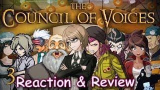 VOICECOMING DANCE - The Council of Voices - Episode 3 REACTION (NicoB Abridged Parody Reaction)