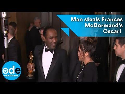 Man steals Frances McDormand's Best Actress Oscar!