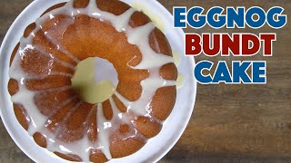 Eggnog Bundt Cake Recipe || Glen & Friends Cooking