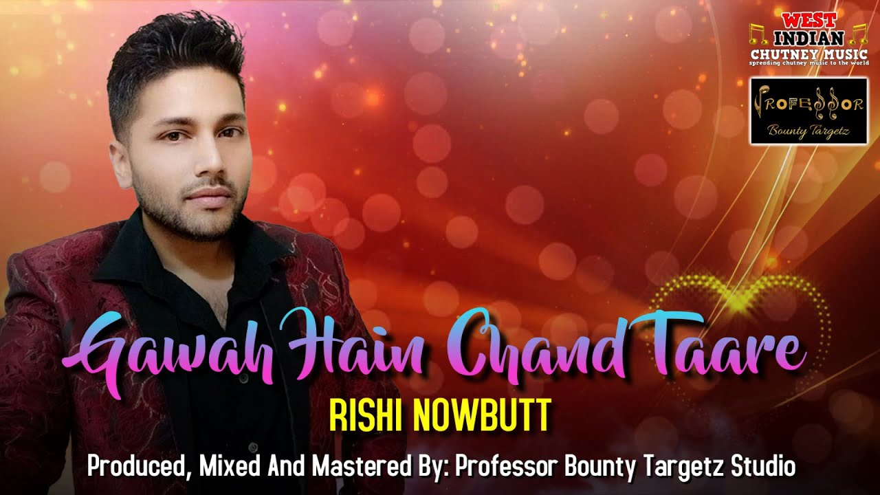 Download Rishi Nowbutt - Gawah Hain Chand Taare (2021 Bollywood Cover)