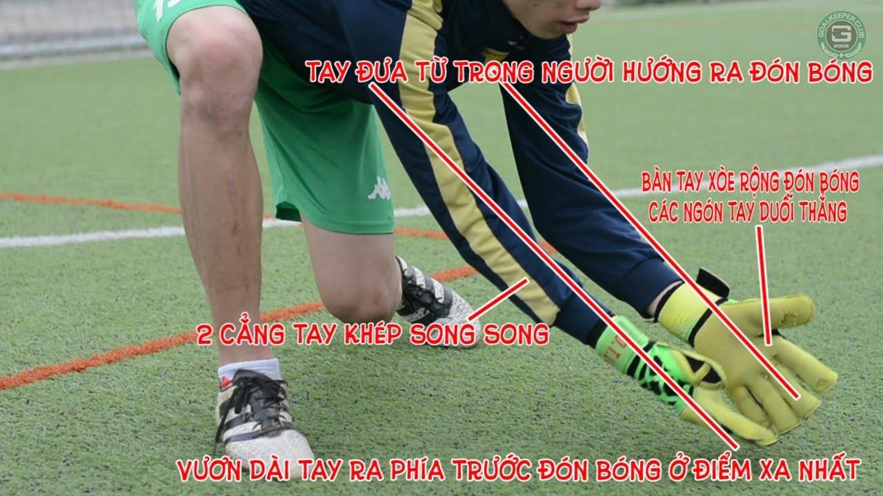 Hướng dẫn bắt bóng sệt cơ bản cho thủ môn