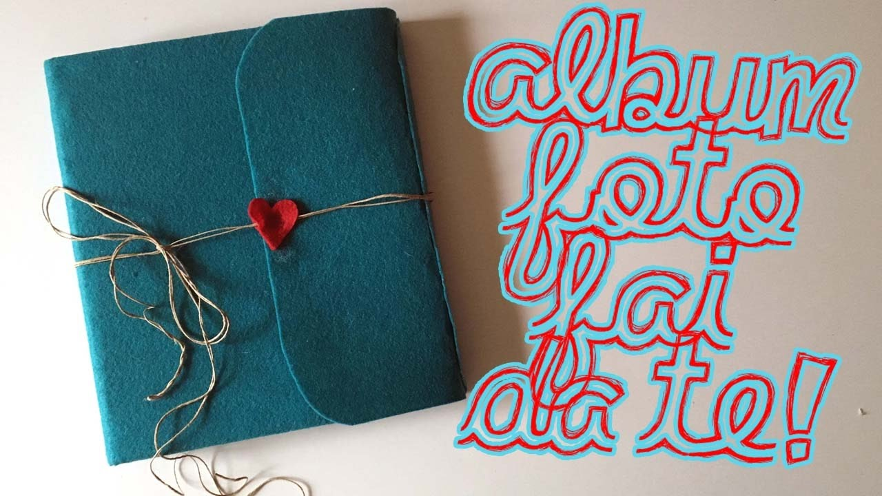 ALBUM DI FOTO FAI DA TE! Handmade Photo Album - YouTube