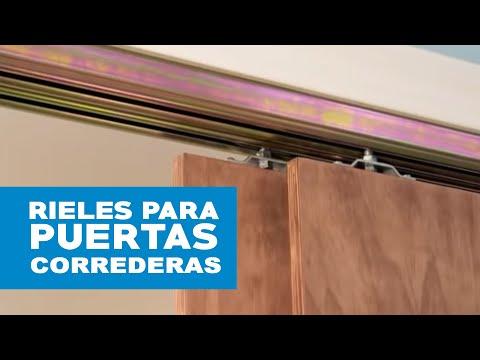 C mo elegir rieles para puertas correderas youtube - Como poner puerta corredera ...