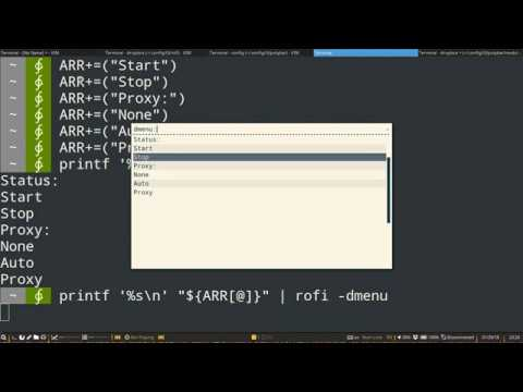 Custom Menu Using Rofi + Polybar/i3gaps-tutorial