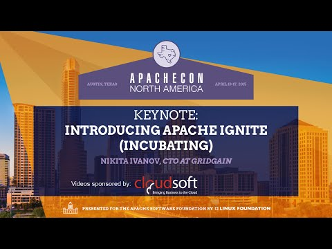 Introducing Apache Ignite (incubating) - Nikita Ivanov, CTO at GridGain