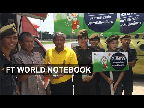 Thai military in vote drive I FT World Notebook
