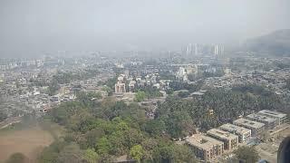 Mumbai Slum: Dharavi aerial view