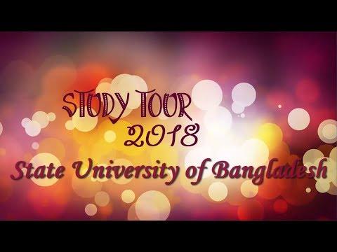 Study Tour 2018 - State University of Bangladesh