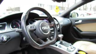 Audi A5 2013. O masina cinstita, dar fara sare si piper.