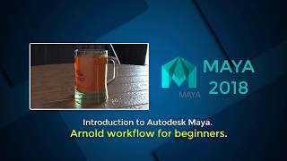 Introduction to Autodesk Maya  Arnold workflow for beginnerss