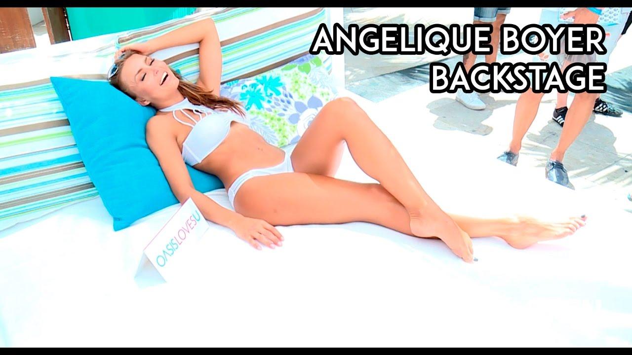 Angelique Boyer Maxim angelique boyer | backstage