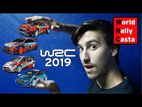 WRC 2019 🏆- Cambios de fechas, pilotos y reglamentos. ENTRÁ YA y enterate!