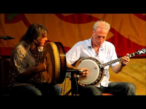 Brian McGrath (banjo) & Johnny Ringo McDonagh (bodhrán) - Spike Island Lasses set