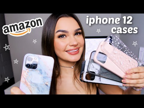 cheap amazon iphone 12 cases | unboxing & haul *under $15*