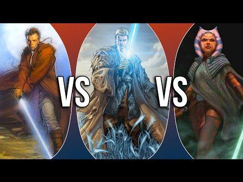 VS | Obi-Wan Kenobi vs Anakin Skywalker vs Ahsoka Tano