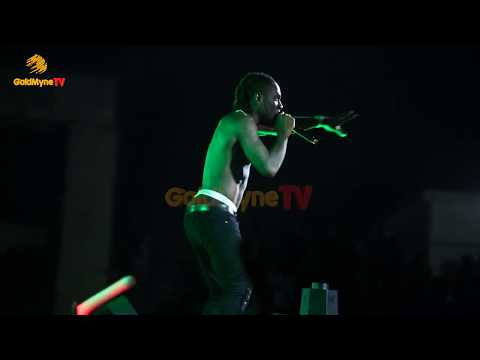 BURNA BOY'S PERFORMANCE AT ACCESS BANK BORN IN AFRICA FESTIVAL