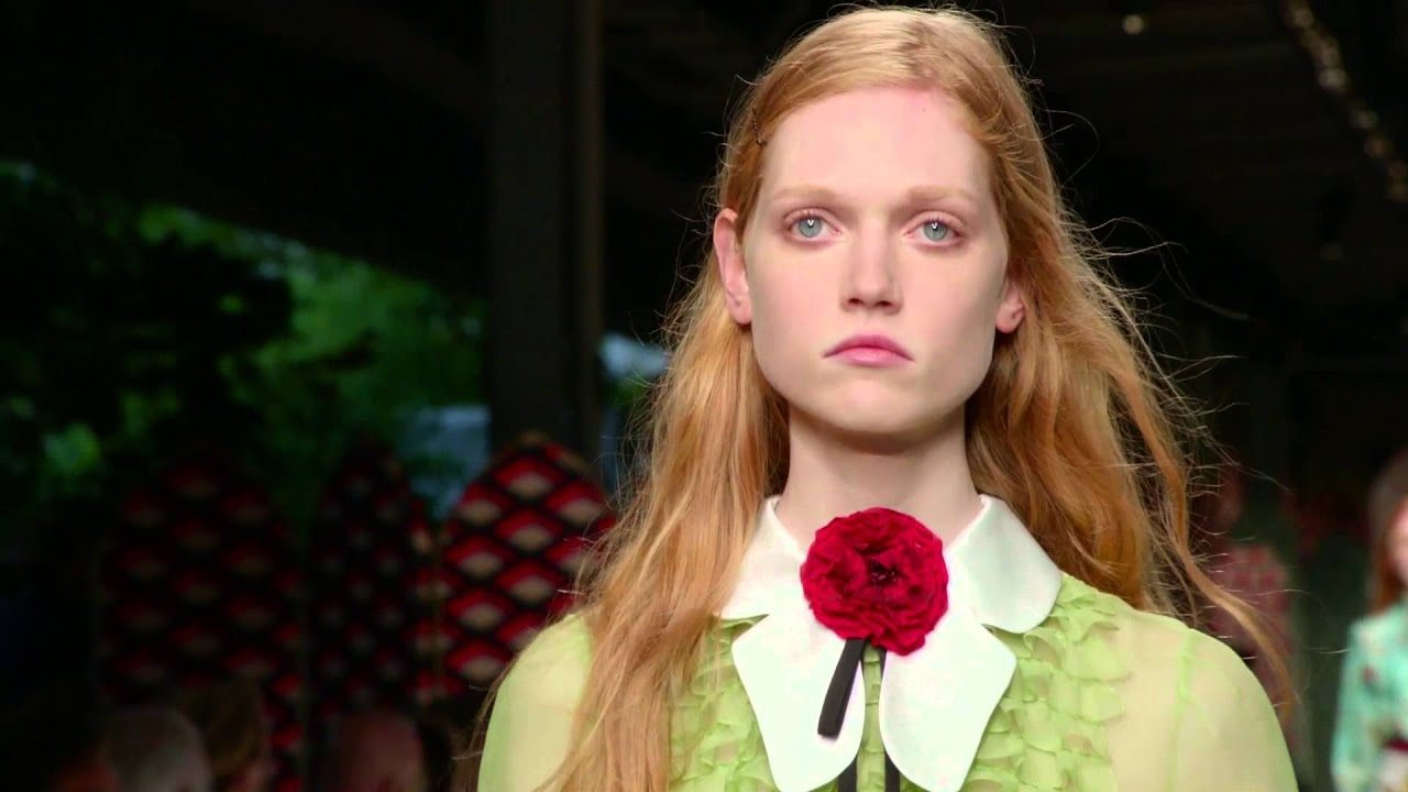 Gucci Women's Spring Summer 2016 Fashion Show