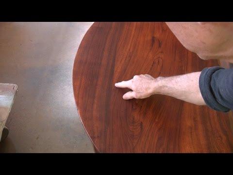 Repairing a Round Table Top - Thomas Johnson Antique Furniture Restoration