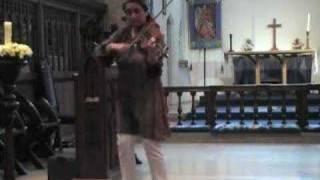 Carrickfergus on the mellow viola