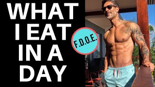 WHAT I EAT IN A DAY – A full day of eating with Men's Health Cover Guy Weston Boucher