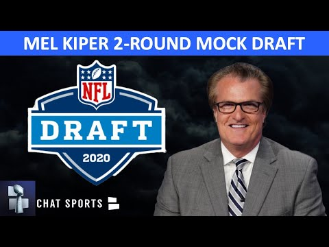 Mel Kiper's NEW NFL Mock Draft: Reacting To The Latest 2 Round Projections Before The 2020 NFL Draft