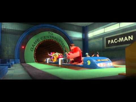 Wreck-it-Ralph Intro-Game Central Station - Blu-Ray HD