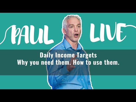 How to use Daily Income Targets to drive your revenue