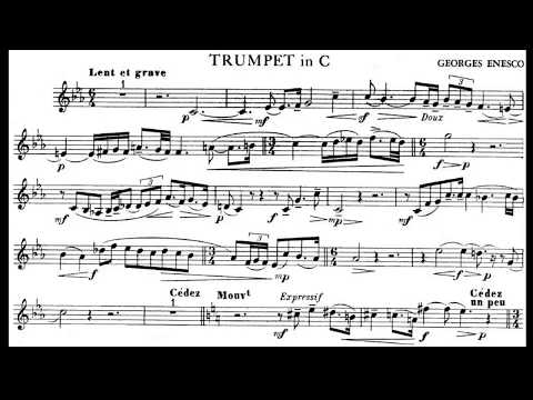 ♫♬Georges Enescu - Legend [Piano only]Play along