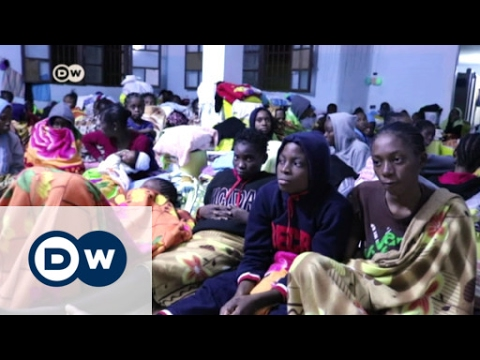 Life inside a Libyan detention camp | DW News