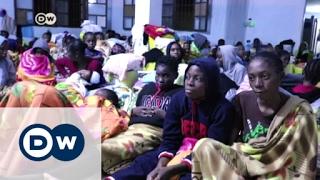 Life inside a Libyan detention camp | DW News