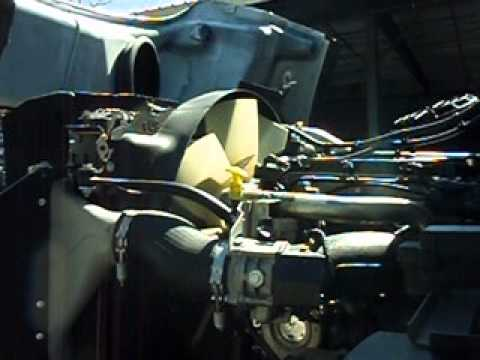 engine fan  freightliner sd youtube