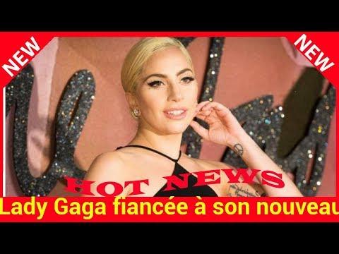 Lady Gaga fiancée à son nouveau compagnon Christian Carino