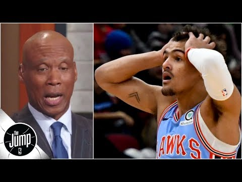 Reacting to Trae Young's ejection for staring: 'This is just ridiculous' | The Jump