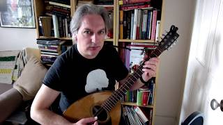 The Broken Pledge (reel) on bouzouki