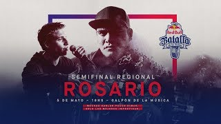 Semifinal Regional Rosario, Argentina 2018 - Red Bull Batalla de los Gallos