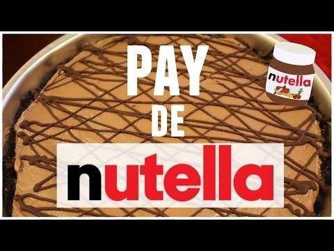 Pay de Nutella SIN HORNO | RebeO
