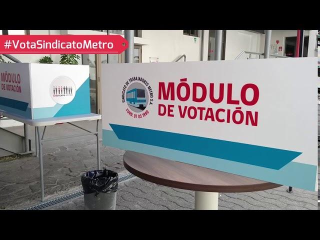 TRICEL Sindicato Metro llama a socios/as a votar #VotaSindicatoMetro