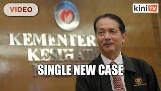 Covid-19: Malaysia records a single new case