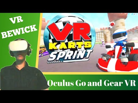VR Karts Sprint - Oculus Go & Gear VR - Gameplay & Review